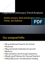 legislative trend analysis dj ns jf jd-1