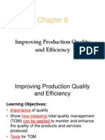 Improving Production Quality