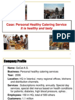 5i Project Personal Catering Service