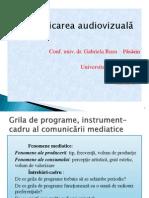 07- Comunicare Audiovizual-â - Grila de programe
