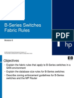 Brocade Switch 09-M6-B Series Fabric Rules
