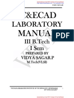 Ecad Lab Manual1