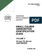 DIA Small-Caliber Ammunition ID Guide-Vol.2
