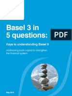 Basel 3 in 5 Questions