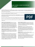 Stroke Coding Guide for Critical Care Coding