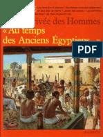Au temps des ancien égyptiens