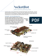 InfoMatrix Abstract PocketBot Project - Ondrej Stanek CZ