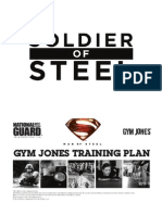 Soldier of Steel Training Plan