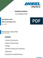Training NBE 400V AC System R0