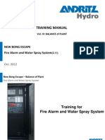 Training_NBE_Fire Alarm and Water Spray System_R0