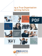 Developing a True Organisational Learning Culture