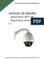 CamaraSpeedDomoSLCV700segimiento automatico