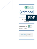 Tutorial Red Social Edmodo - IBERTIC