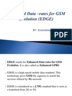 Enhanced Data –rates for GSM Evolution (