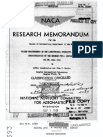 NACA report of the Grumman F8F-1
