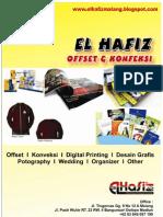Company Profile El Hafiz Offset Dan Konveksi