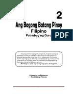 Filipino 2 TG for K-12.5.03.13