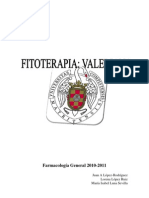 Trabajo Valeriana Offiicinalis