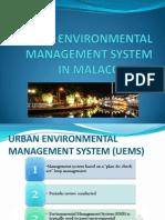 Urban Environmental Management System 1