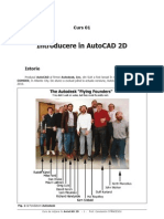 Curs 01 - Introducere in AutoCAD 2D