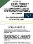 Norma Nfpa 25 Rociadores