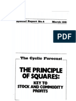 (Trading) the Cyclic Forecast - The Principle of Squares (According to Gann)