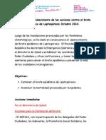Plan de Fortalecimiento Paratencion Del Brote Leptospirosis