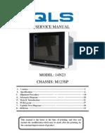 14N23 M123SP Service Manual