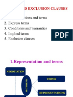 Specific Terms of Contract