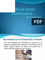 DISEÑO DE REDES RAMIFICADAS