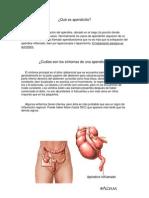 Qué es apendicitis