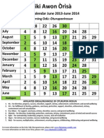 2013-2014_ Ose Ifa Calendar[1]