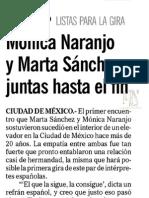 Mónica Naranjo - El Informador - 20.06.2013