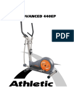 Manual Eliptico Athletic 440EP