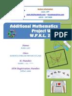 Additional Mathematics Project Work 2013 WPKL