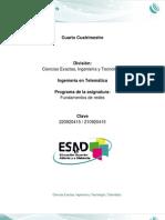 Programa Desarrollado Fundamentos de Redes - UNADM