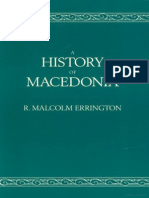 A History of Macedonia (by R. Malcolm Errington)