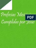 Profecias Mesianicas Cumplidas Por Jesus -Bueno OK