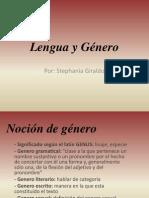 PRESENTACION Lengua y Género