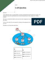 Ccna Eigrp Lab Question