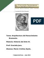 Arquitectura Del Renacimiento (Donato Bramante).
