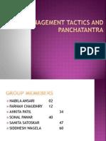 Management Tactics and Panchatantra