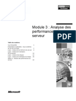 Analyse Des Performances Du Serveur