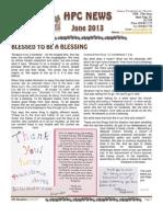 HPC Newsletter - June 2013