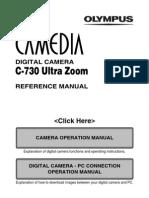 Olympus C-730UZ Reference English