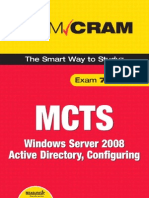 MCTS 70-640 Exam Cram Windows Server 2008 Active Directory