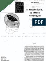 el psicoanalisis, su imagen y su publico.pdf