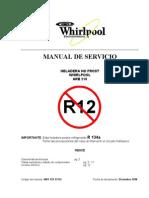 Manual de Heladera Whirlpool ARB-210