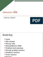 Senzori sila (Vedran Babić)