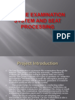 Online Examination System Project PPT